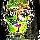 Portrait of a Narcissist Man by Kater