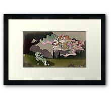 The Creation of Lyra Framed Print