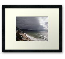 Afternoon At The Bay Of Banderas - Tardecita Framed Print