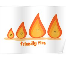 Friendly fire Poster