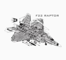 F22 Raptor by Chris Cardwell