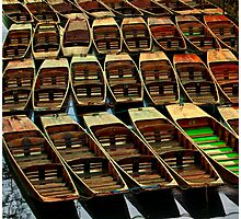 Oxford Boats Photographic Print