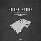 House Stark iPhone Case by liquidsouldes
