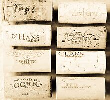 Wine Cork Collection by Amber Leigh Summers