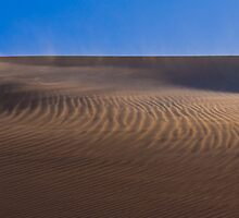 Formby Bay Sand Dune in Sunset Light by pablosvista2