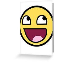 smiley meme Greeting Card