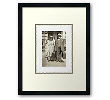 My Great Grandparents, The Halls Framed Print