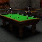 Game of Pool by MickCook