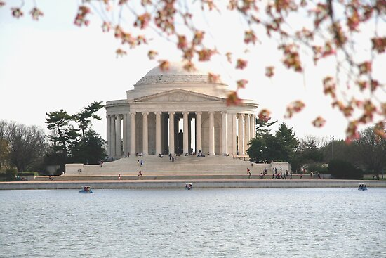 DC Spring - the Jefferson Memorial by WalnutHill