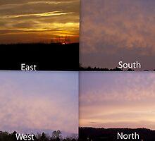 360 Degree Sunrise!!! by barnsis