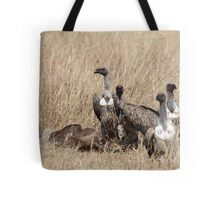 Griffon Vultures with Kill Tote Bag