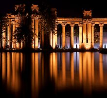 Palace Of Fine Arts by Jarede Schmetterer
