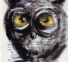 """Little owl boy"" by Tatjana Larina"