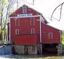 Prater's Mill - Stream Side by BluePhoenix