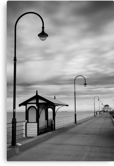 Pier Into The Past by Shari Mattox