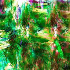 Jungle ~ Abstract Art by Vidka Art