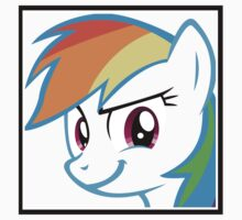 Rainbow Dash Challenge face by danspy1994