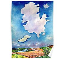 The Huge Cloud Poster