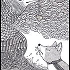 The Fox and the Crow by Anita Inverarity