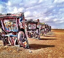 Cadillac Ranch  by brookesmith