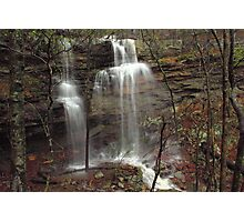 Lower Haley's Waterfall of Arkansas Photographic Print