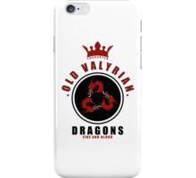 House Targaryen Sports Badge iPhone Case iPhone Case/Skin