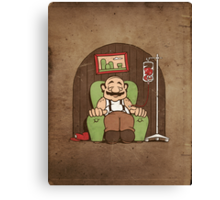 Memories of the Mushroom Kingdom Canvas Print