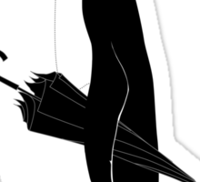 A Well Dressed Villain Sticker
