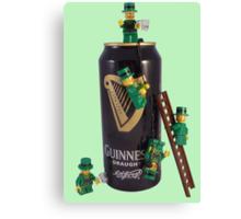 Guinness Makes A St Patricks Day ! Canvas Print