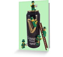 Guinness Makes A St Patricks Day ! Greeting Card