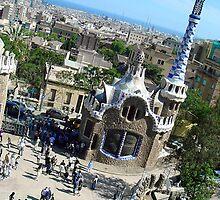 I Love Barcelona 19 by Diana  Kaiani