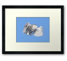 Heaven restores you in life Framed Print