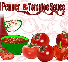 Bell Pepper & Tomato Sauce (2869 Views) by aldona