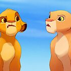 Simba and Nala - One Day You Two Are Going To Be Married by Tom Skender