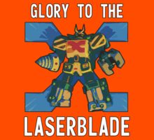 Glory to the Laser Blade... - Constructor X; Bomberman Generations Kids Clothes