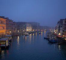 Daybreak in Venice by Béla Török