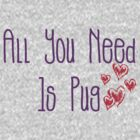 All You Need Is Pug by Stephanie Ohnesorge