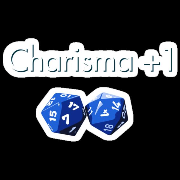 Charisma +1 2d20 by Stuart Hogton