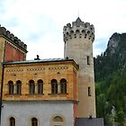 Neuschwanstein Castle Tower by Imagery