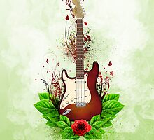 My Stratocaster by Smudgers Art