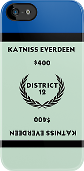 Hunger Games - Monopoly - Katniss Everdeen by amanoxford