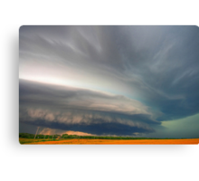 Inflow Bands HDR Canvas Print