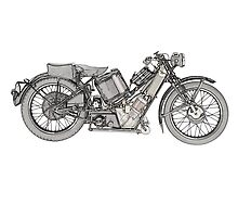 Scott Super Squirrel 1929 by surgedesigns
