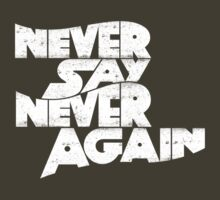 Never Say Never by ZedEx