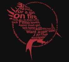 Catching Fire Typography by StueyK