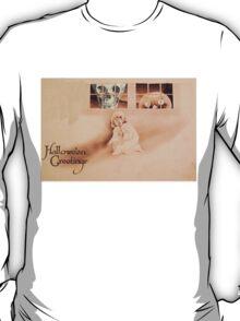 Wrong Shoulder... (Vintage Halloween Card) T-Shirt