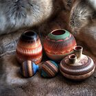 Navajo Pottery by Merja Waters