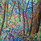 Shimmering Forest by Sally Ford