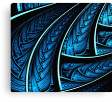 Peacock's Tail Canvas Print