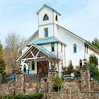 Church in the Mountain Vineyard by ©Marcelle Raphael / Southern Belle Studios